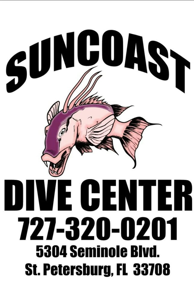 Suncoast Dive Center: 5304 Seminole Blvd, Saint Petersburg, FL