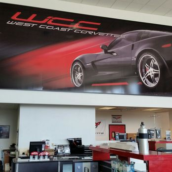 West Coast Corvette >> The West Coast Corvette Banner And Counter Yelp