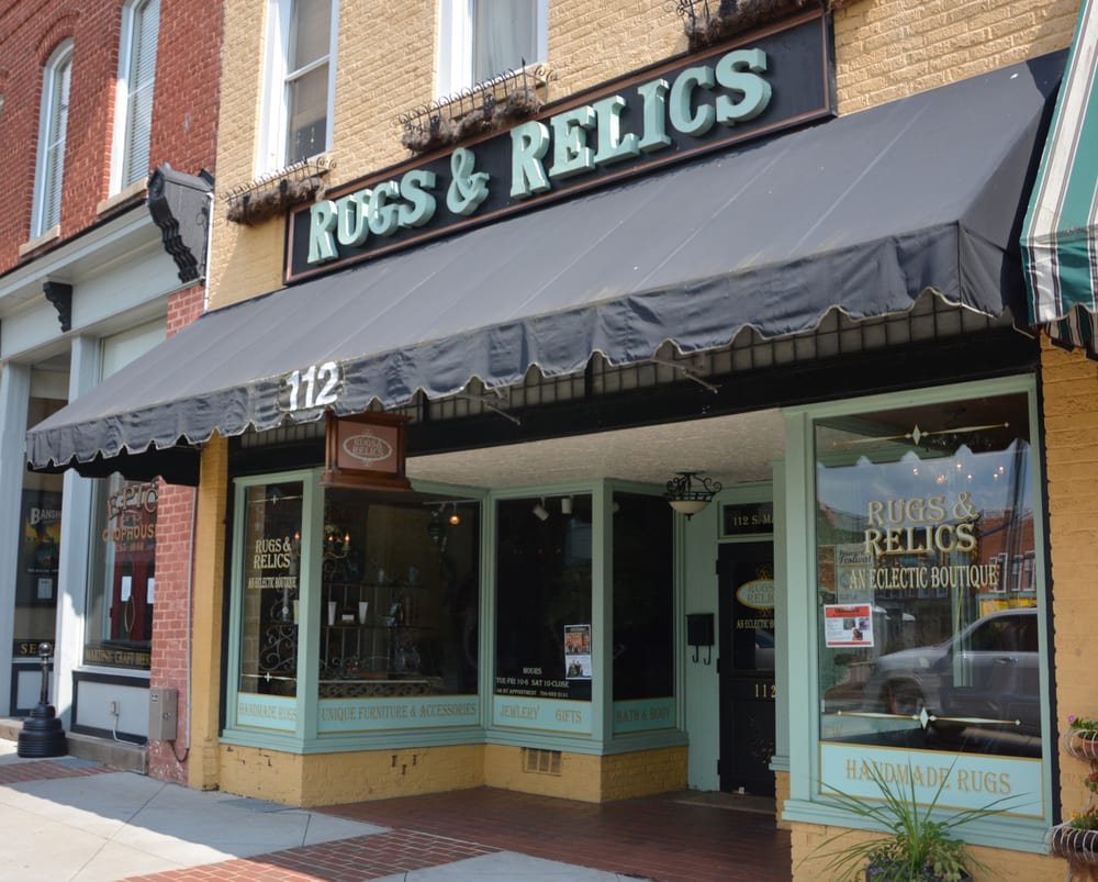 Rugs & Relics: 112 S Main St, Mooresville, NC