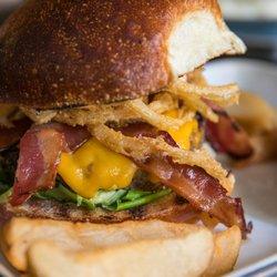 Photo of The Horny Ram - New York, NY, United States. Burger