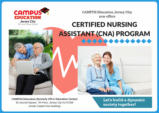 We Are Opening A Cna Certified Nursing Assistant Program This