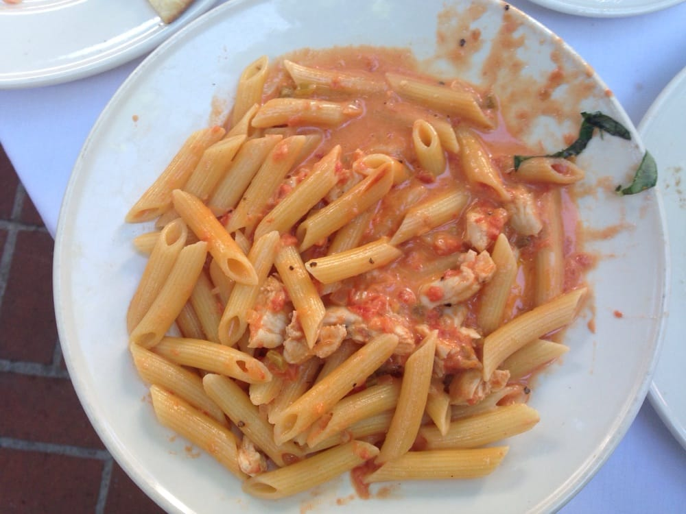 penne in vodka cream sauce recipe dishmaps chicken and penne in vodka ...