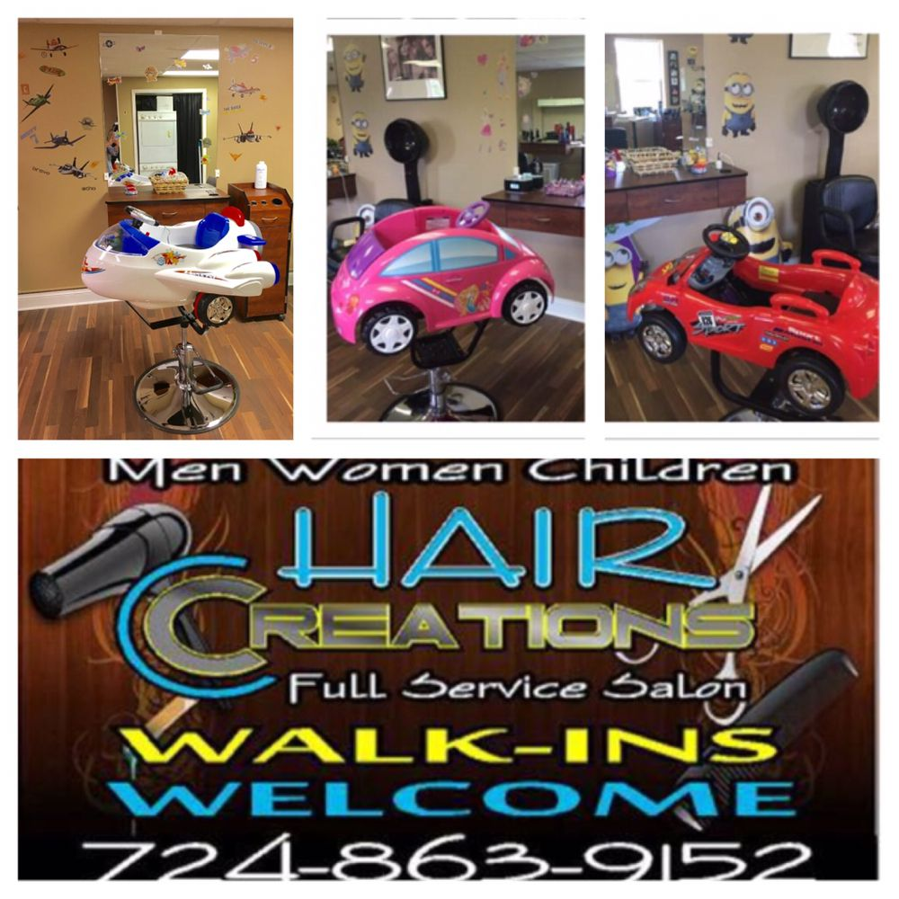 Hair Creations: 3354 Pennsylvania 130, Harrison City, PA