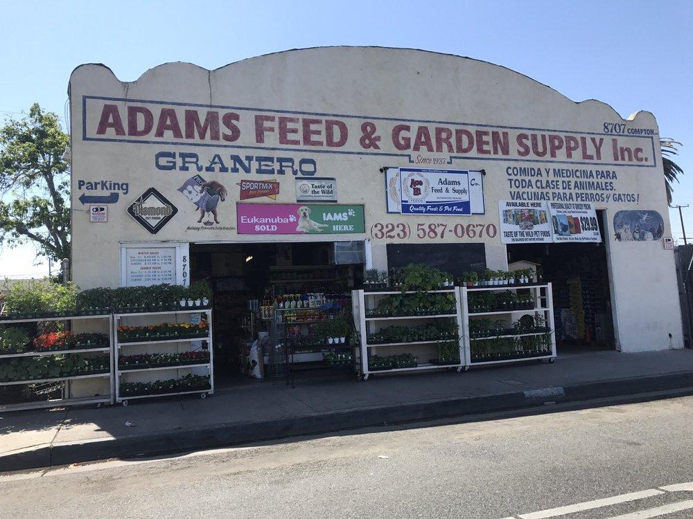 Adams Feed & Garden Supply: 8707 Compton Ave, Los Angeles, CA
