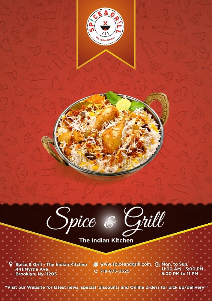 Spice & Grill : The Indian Kitchen: 441 Myrtle Ave, Brooklyn, NY