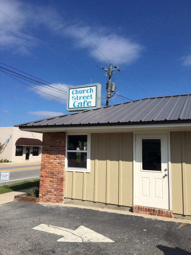 Church Street Cafe: 107 S Church St, Hahira, GA