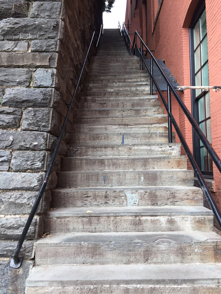Exorcist Steps: 36TH St Nw And M St NW, Washington, DC, DC