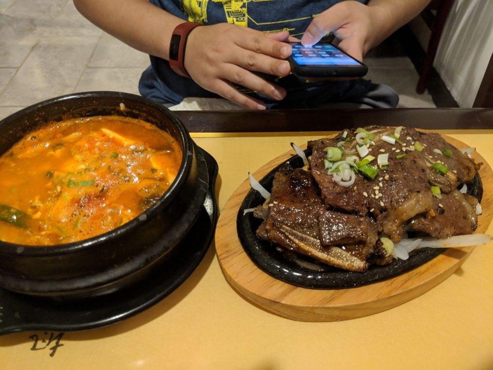 Food from Panda Korea
