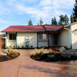 Photo Of Northwest Construction Landscape Bremerton Wa United States Stamped Concrete
