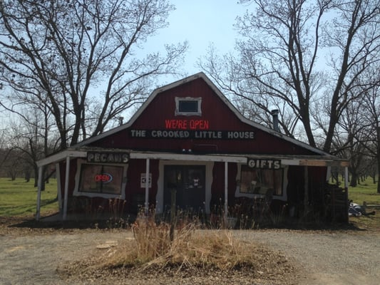 Crooked Little House 6311 Highway 28 W Adair Ok Stati