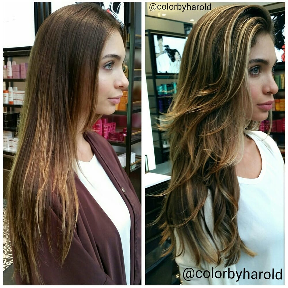 Ombre Color Correction By Harold Egan Colorist For The Red Door In