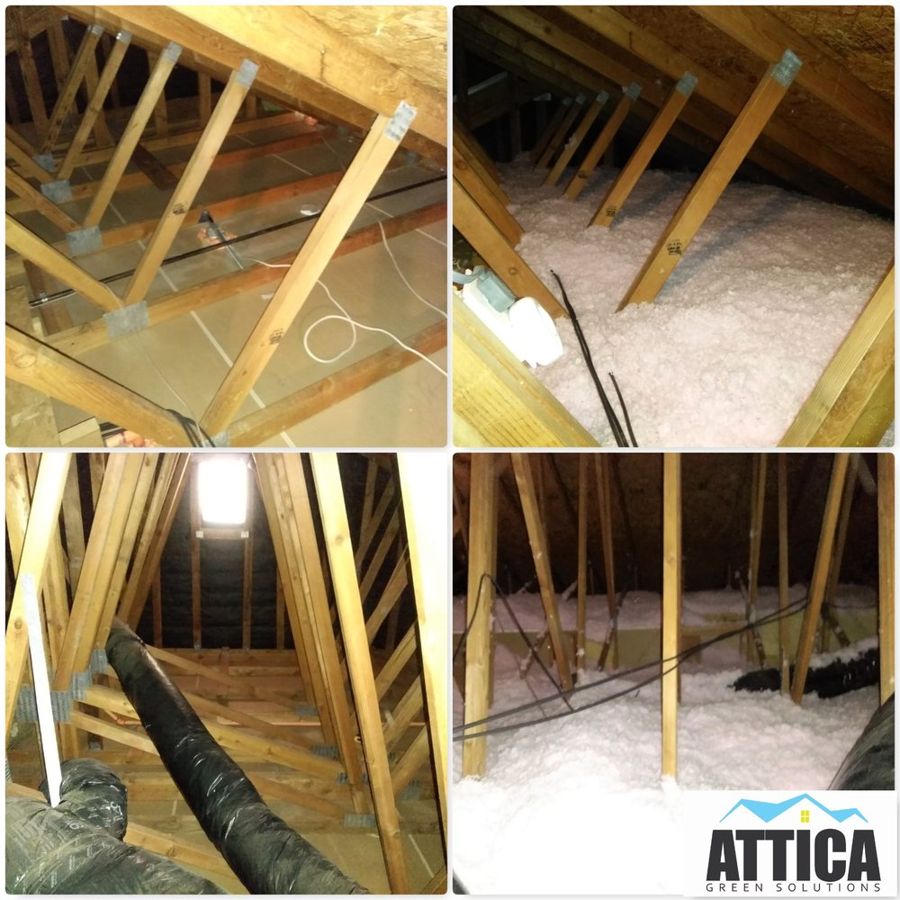 Finishing the attic floor - possible options and technology execution