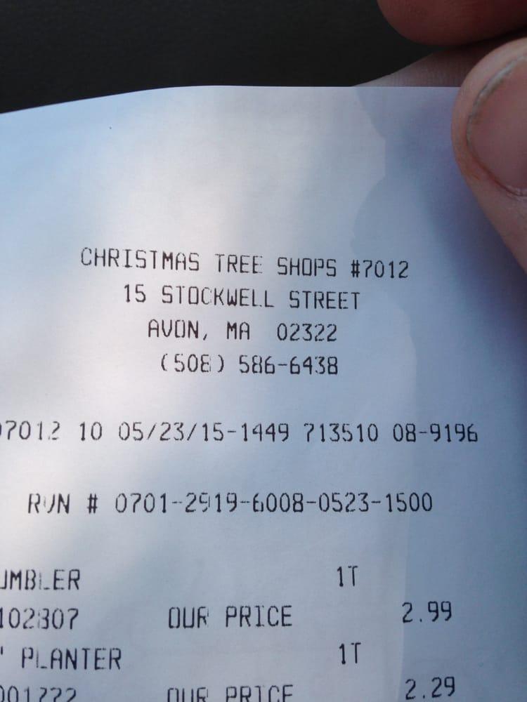 Elegant Photo Of Christmas Tree Shops   Avon, MA, United States. Avon Christmas Tree