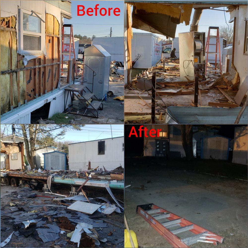 Clean House Removal: 15 Solomon St, Attleboro, MA