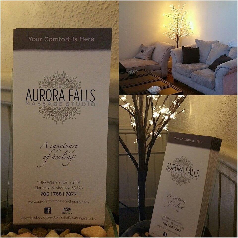 Aurora Falls Massage Studio: 1286 Washington St, Clarkesville, GA