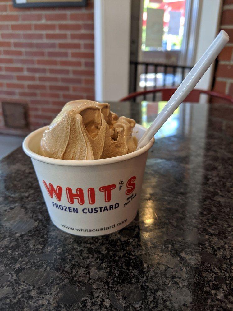 Food from Whit's Frozen Custard