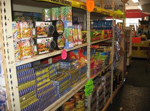 T.C.S. Fireworks: 272 Main St, Woonsocket, RI