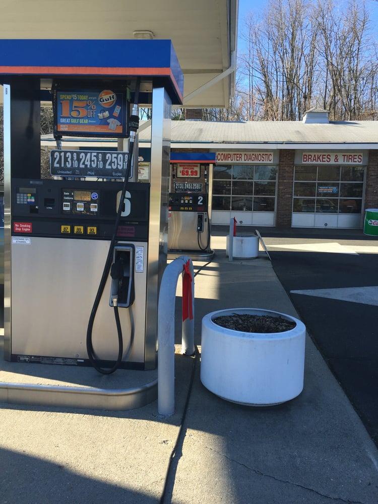 Gulf Gas: 1121 Mount Kemble Ave, Morristown, NJ