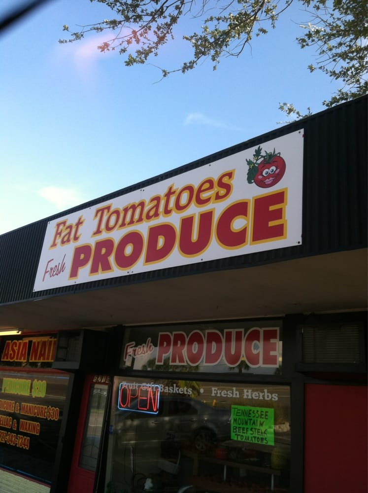 Fat Tomatoes Fresh Produce: 6716 Central Ave, St. Petersburg, FL
