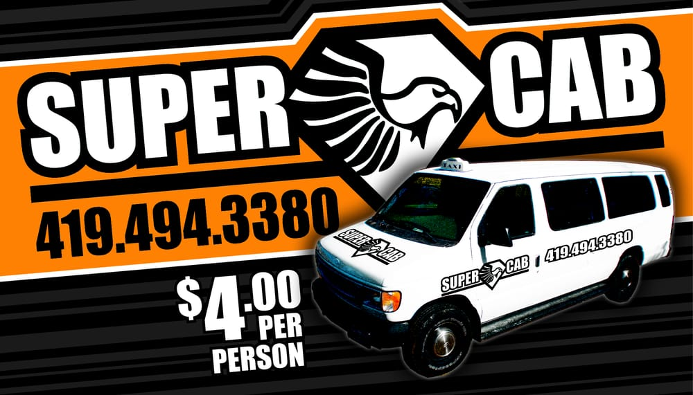 SuperCab Taxi: Main St, Bowling Green, OH