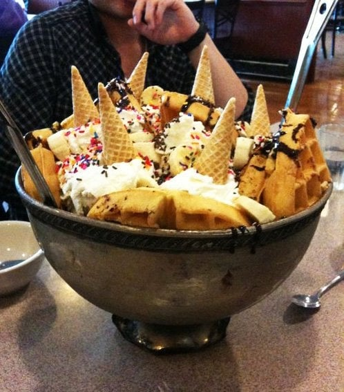 man vs food ice cream the world as seen on man vs food yelp. Interior Design Ideas. Home Design Ideas