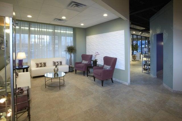 Client waiting area yelp for Salon panache