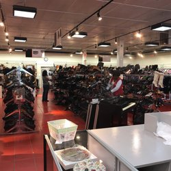 Photo Of Salvation Army   Rockville, MD, United States. Racks Of Shoes