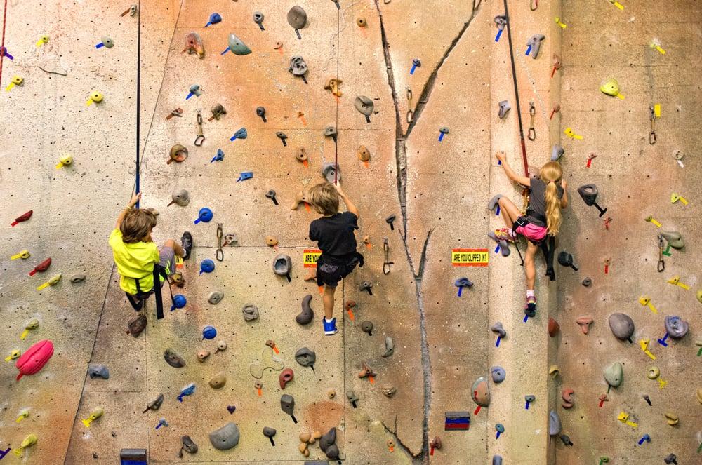 Upper Limits Climbing Gym: 1304 W Washington St, Bloomington, IL