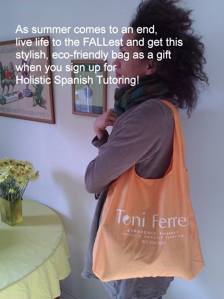Toni Ferrer Studio - Holistic Spanish Tutoring   201 Montgomery St, Jersey City, NJ, 07302   +1 (917) 324-3157