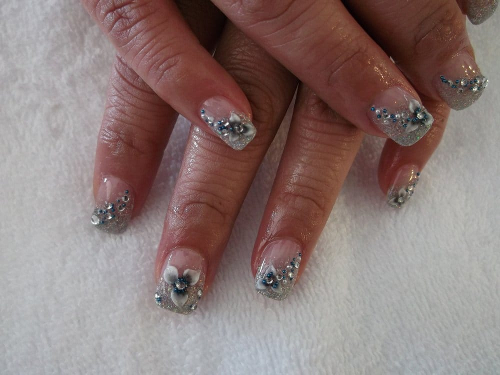 American Lynth Gel With Hello Kitty 3d Nail Art Yelp
