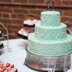 Photo Of Amycakes   Springfield, MO, United States. Brush Embroidery Wedding  Cake And
