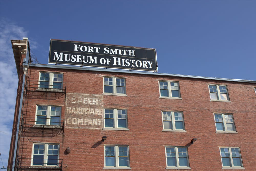 Fort Smith Museum of History: 320 Rogers Ave, Fort Smith, AR