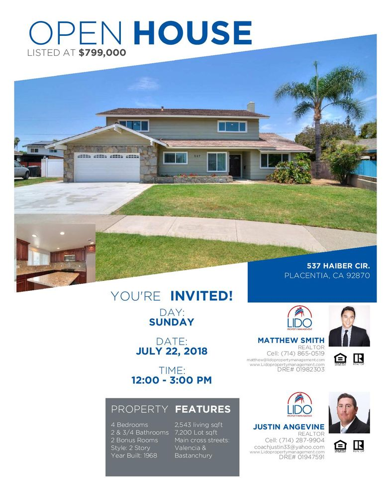 Lido Real Estate and Investments | 731 E Ball Rd Ste 102, Anaheim, CA, 92805 | +1 (714) 956-0235