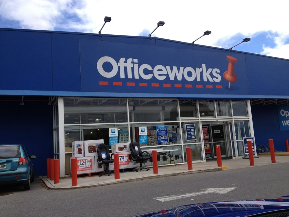 Officeworks office equipment 5 7 anzac hwy keswick for Furniture 7 phone number
