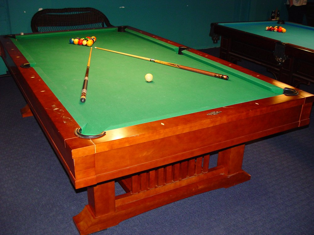 Brunswick Mission II Table Is Perfectly Level And Rolls True - Brunswick mission pool table