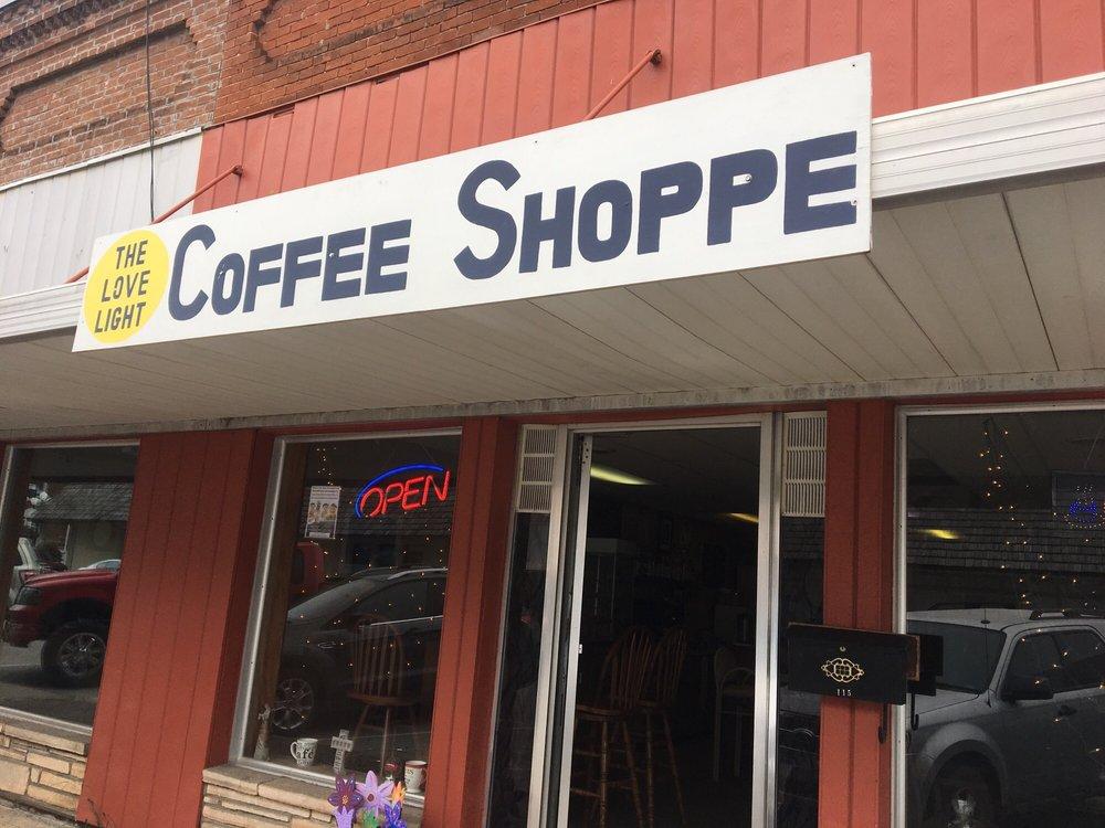 Love Light Coffee Shoppe: 115 N Monroe St, Versailles, MO