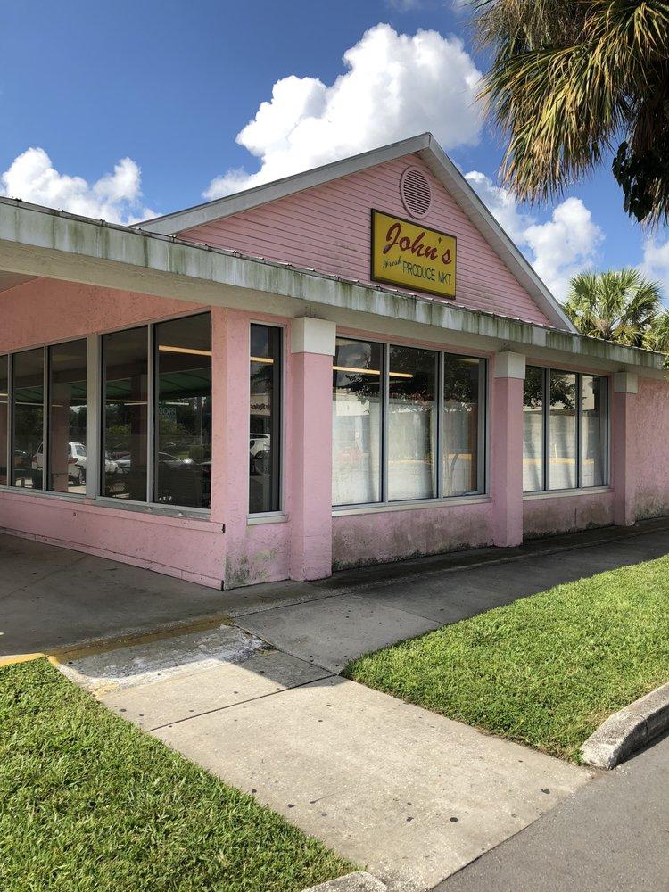John's Fresh Produce Market: 1496 S Belcher Rd, Clearwater, FL