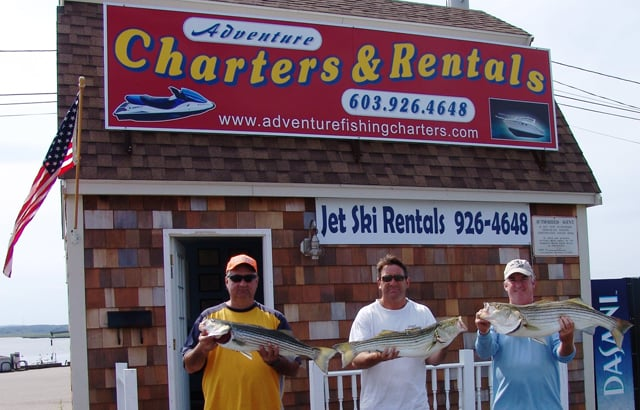 Adventure Charters & Rentals: 1 Ocean Blvd, Hampton, NH