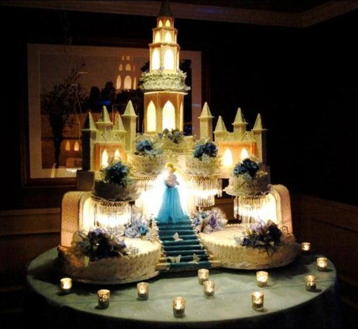 Happy Birthday Castle Cake Pic