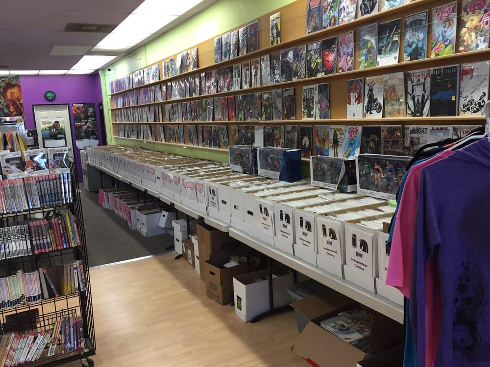 Iguana Comics: 401 SE 6th St, Grants Pass, OR