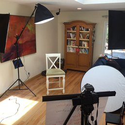 photo of kim aronson video production berkeley ca united states setup in - Aronson Furniture