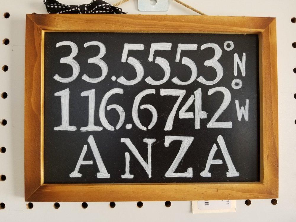 Mr. Happy's Mercantile: 57475 Hwy 371, Anza, CA