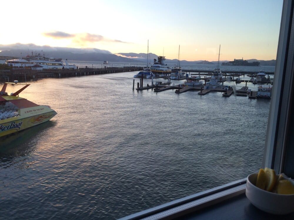 View from my window yelp for Fog harbor fish house san francisco