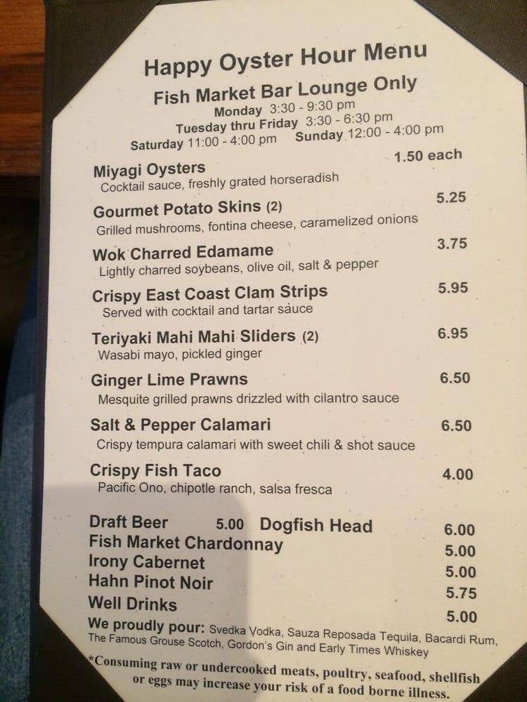 New hh menu yelp for One fish two fish menu