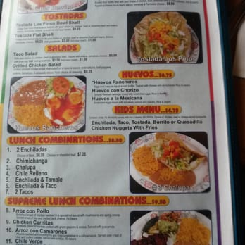Los Pinos Mexican Restaurant Orting