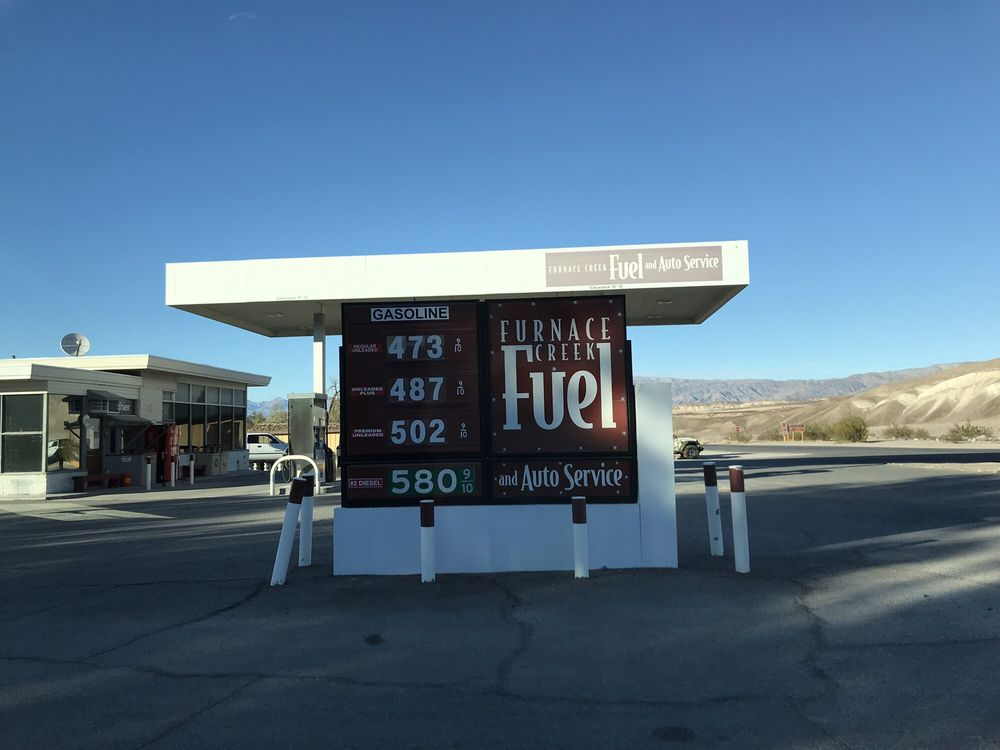 Gas Station Prices >> Furnace Creek Gas Station Prices As Of 11 25 18 Yelp