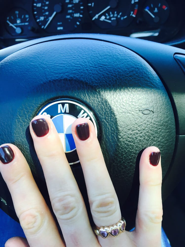 Despite my very short nails, my nail techs did a perfect job with ...