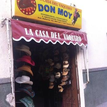 La casa del Vaquero Don Moy - Ropa de caballero - Av. Reforma 904 ... f1defe32886