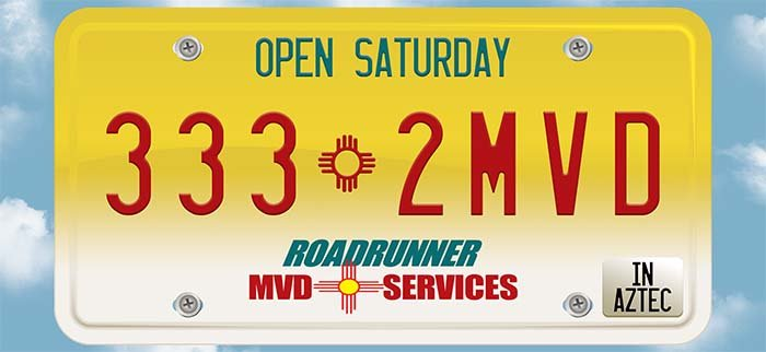 Roadrunner MVD Services: 1415 W Aztec Blvd, Aztec, NM