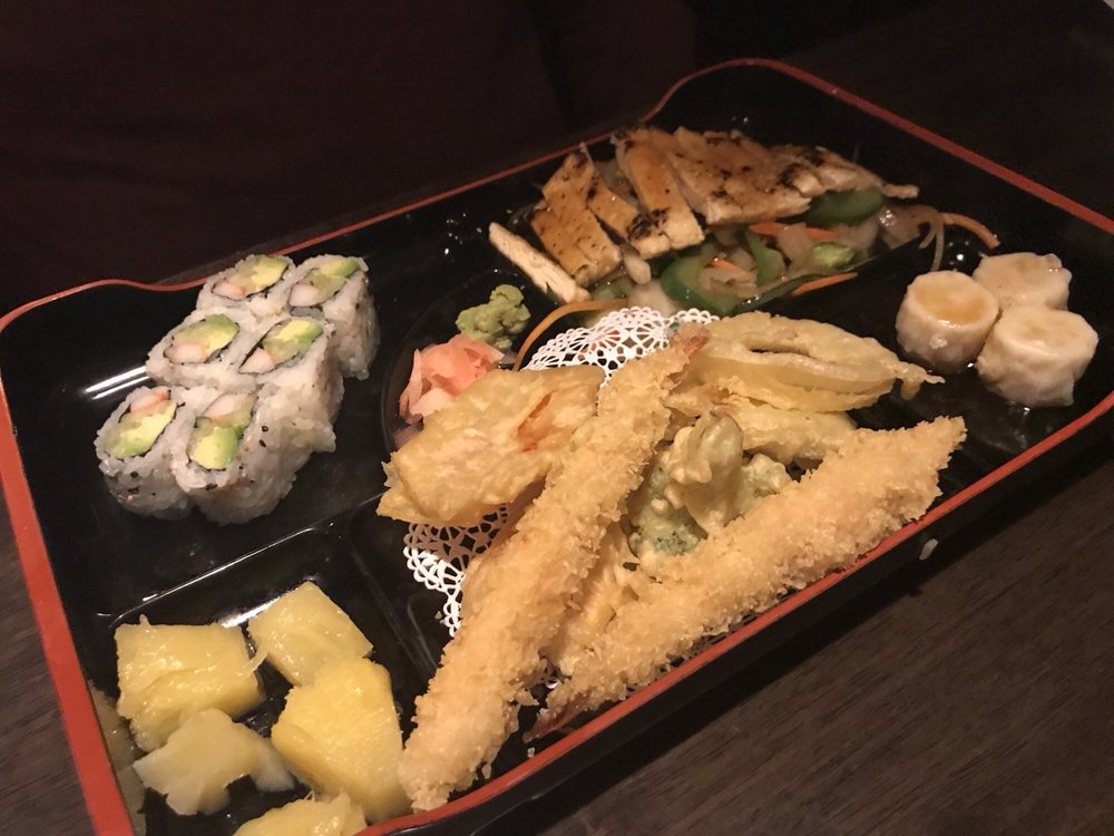 Food from Tokyo Steakhouse